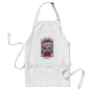 Kitty Bride To Be Apron