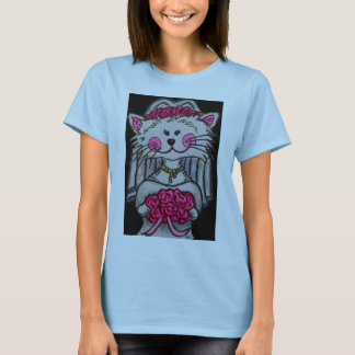 Kitty Bride To Be T-shirt