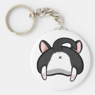 Kitty Butt Keychain
