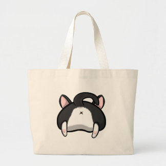 Kitty Butt Large Tote Bag