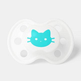 Kitty Cat Blue Pacifier