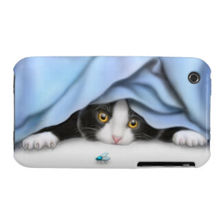 Kitty Cat Bug Hunter iPhone 3 Case