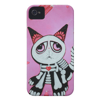 Kitty Cat Candy Pink iPhone 4 Case