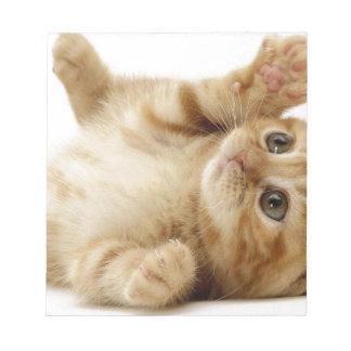 Kitty Cat Cute Item Notepad