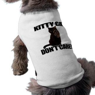 Kitty Cat Don't Care Shirt