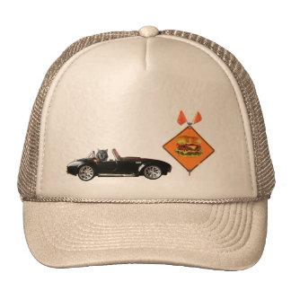 Kitty Cat drives to burgerville Trucker Hat