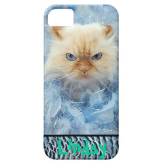 Kitty Cat Feathers iPhone 5 Covers
