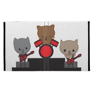Kitty Cat Kawaii Band ipad folio case