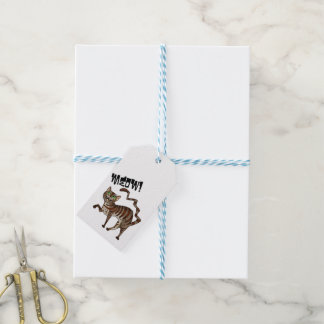 Kitty Cat Meow! Gift Tags
