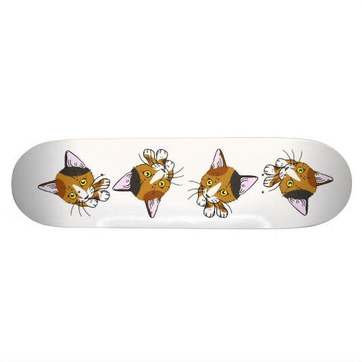 Kitty-cat , Tortoiseshell  (三毛猫) Skateboard