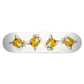 Kitty-cat , Tortoiseshell  (三毛猫) Skate Boards