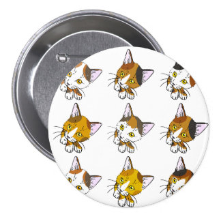 Kitty-cat , Tortoiseshells , tabby cats (三毛猫) Buttons