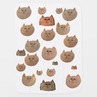 KITTY CATS!! BABY BLANKET