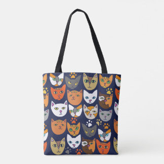 Kitty Cats Everyday Caturday Tote Bag
