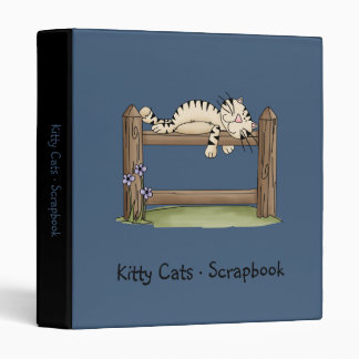 Kitty Cats · Kitty on Fence Binder