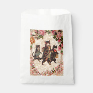Kitty Cats Pretty Vintage Favour Bag