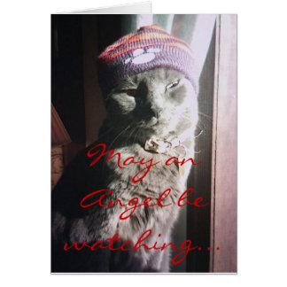 Kitty Christmas - Customized - Customized Card