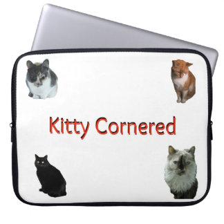 Kitty Cornered Laptop Case Laptop Sleeve