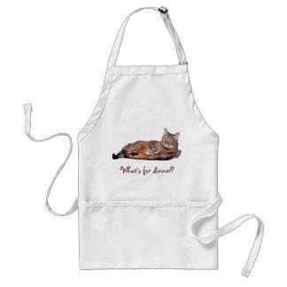 Kitty Dinner Standard Apron