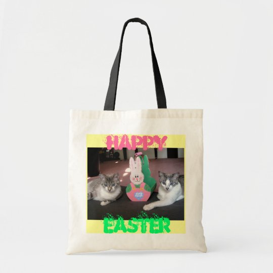 Kitty Easter Tote