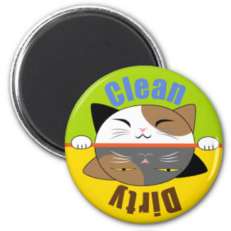 Kitty Face Dish Washer Magnet