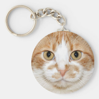 Kitty face keychain