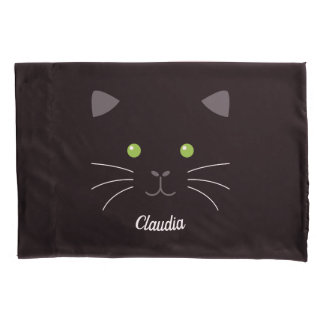 Kitty Face Pillowcase