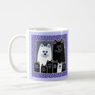 Kitty Family Portrait Coffee Mug