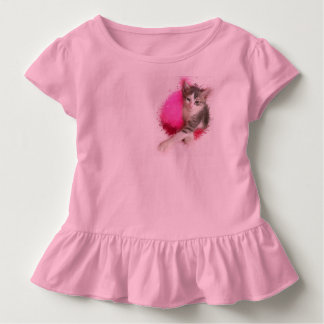 Kitty Girl Toddler T-shirt