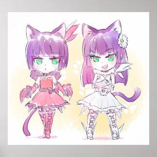 Kitty Girls Poster