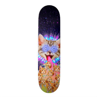 Kitty God Supreme Element One Custom Pro Deck Skateboards