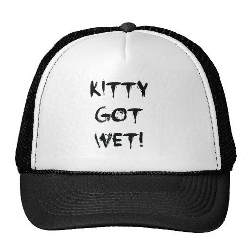 Kitty Got Wet! Mesh Hats