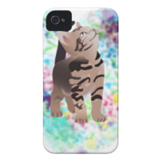 Kitty Heart Aqua gifts iPhone 4 Case-Mate Case