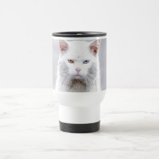 Kitty is Not Amused Stainless Steel Travel Mug
