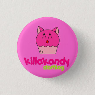 Kitty Kat Badge :) 1 Inch Round Button