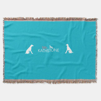 Kitty Kathstone cover with Larry & Villard Throw
