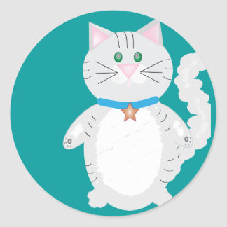 Kitty Kendall Classic Round Sticker
