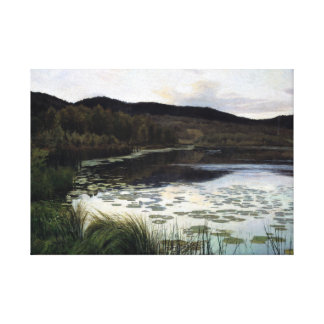 Kitty Kielland Summer Night Canvas Print