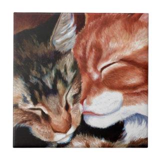 Kitty Kisses Ceramic Tiles