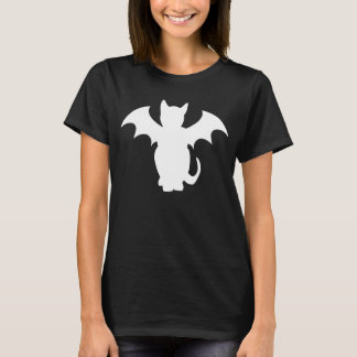 Kitty Lectro Gothic Bat Cat T-Shirt