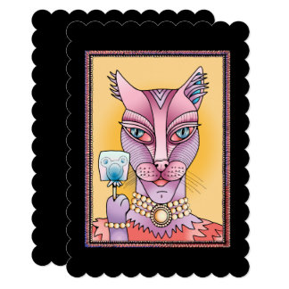 Kitty Lollipop Card