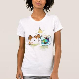 Kitty looking fishy T-Shirt
