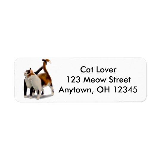 Kitty Love Avery Label Return Address Label