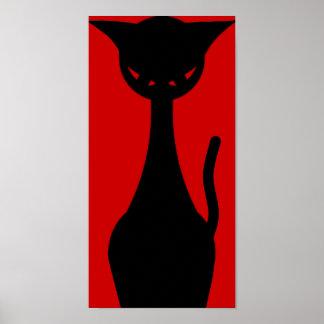 Kitty mauvais poster