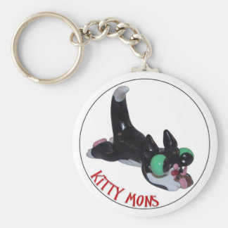 Kitty Mon and his mouse a Key Chain