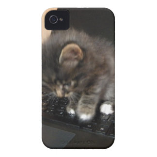 Kitty Mouse iPhone 4 Case-Mate Cases