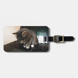 Kitty Mouse Luggage Tags