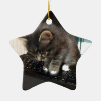 Kitty Mouse Christmas Tree Ornament