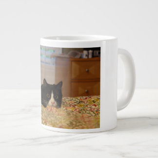 Kitty Nala on High Alert Jumbo Mug