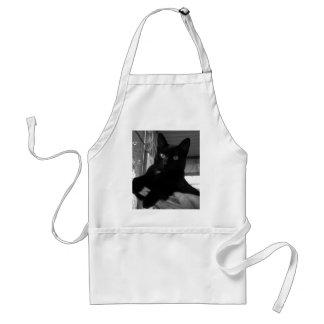 Kitty noir tablier